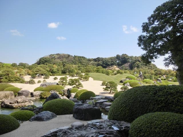 ▲日本一の庭園足立美術館