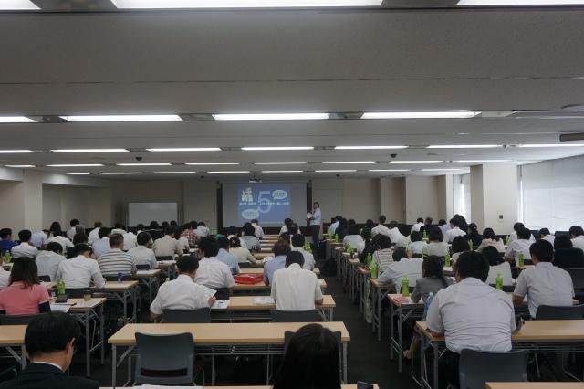 ▲新大阪講演会で