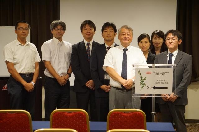 ▲左から牧野先生()高野先生()正木さん、金村さん、八幡、白川さん、さん、宮次さん