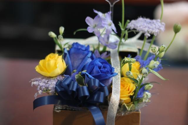 ▲今年の誕生日にいただいたお花です。ありがとうございました。